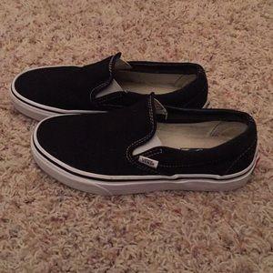 Vans slip on.  Size 8
